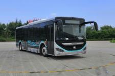 海格牌KLQ6106GAEVN3型纯电动城市客车图片