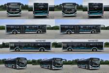 海格牌KLQ6106GAEVN3型纯电动城市客车图片2