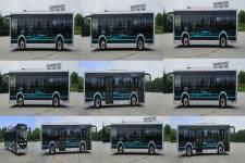 海格牌KLQ6106GAEVN3型纯电动城市客车图片3