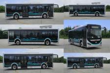 海格牌KLQ6106GAEVN5型纯电动城市客车图片3