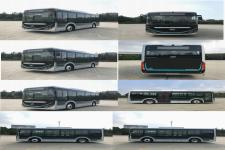 海格牌KLQ6856GAEVN3型纯电动城市客车图片2