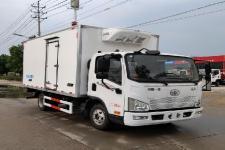 解放牌CA5041XLCP40K61L2E6A84型冷藏车图片