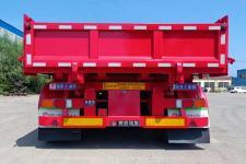 赛采埃孚克牌TGT9403ZZX型自卸半挂车图片