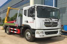 国六 东风多利卡D9摆臂式垃圾车厂家直销  价格最低