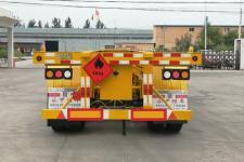 永甲牌MQ9400TWY型危险品罐箱骨架运输半挂车图片