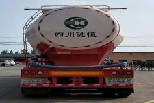 驰恒九州牌CHV9400GFL型中密度粉粒物料运输半挂车图片