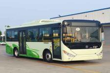 中通牌LCK6826EVG3A8型纯电动城市客车图片