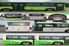 中通牌LCK6826EVG3A8型纯电动城市客车图片2