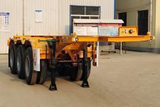 驰恒九州8米35吨3轴集装箱运输半挂车(CHV9400TJZ)
