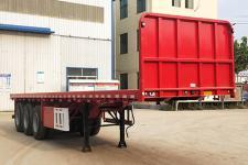 驰恒九州10米34.3吨3轴平板运输半挂车(CHV9401TPB)