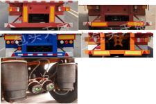 蒙天盛牌MTS9400CCY型仓栅式运输半挂车图片