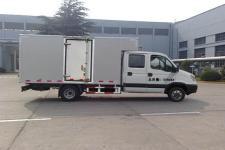 依维柯牌NJ5046XXYLQES型厢式运输车图片