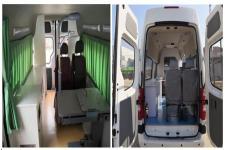 福田牌BJ5048XDW-V5型流动服务车图片