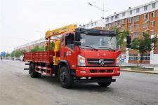 国六东风8吨随车起重运输车