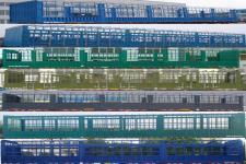 中集牌ZJV9401CCYYK01型仓栅式运输半挂车图片