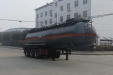 特运10.3米30.5吨3轴腐蚀性物品罐式运输半挂车(DTA9403GFW)