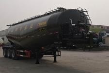 斯派菲勒12.2米28.8吨3轴低密度粉粒物料运输半挂车(GJC9402GFL)