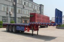 路飞12.5米32吨3轴平板运输半挂车(YFZ9401TPB)
