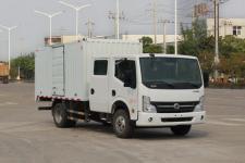 东风凯普特国五单桥厢式运输车116-193马力5吨以下(EQ5041XXYD5BDFAC)