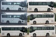申龙牌SLK6873ALD5型客车图片3