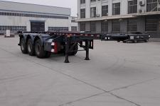 遠東汽車9.4米34.5噸3軸危險品罐箱骨架運輸半掛車(YDA9401TWY)