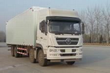 斯达-斯太尔国五前四后八厢式货车280-469马力15-20吨(ZZ5313XYKN466GE1)