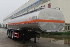 特运11.5米30.3吨3轴易燃液体罐式运输半挂车(DTA9408GRYQ)