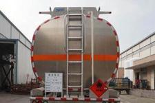运力牌LG9404GYYA型铝合金运油半挂车图片
