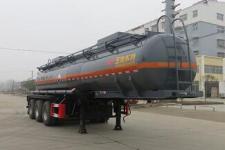 特运9.7米31.4吨3轴腐蚀性物品罐式运输半挂车(DTA9408GFWD)