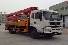 国五东风16米混凝土泵车