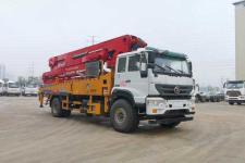 重汽水泥输送泵车价格