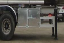 醒狮牌SLS9401GYYF型铝合金运油半挂车图片