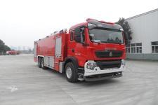 川消牌SXF5331GXFSG180型水罐消防车图片