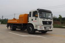 东风单桥车载式混凝土泵车多少钱