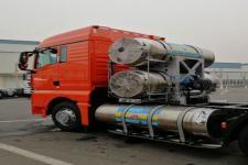 汕德卡牌ZZ4256V383HF1L型牵引汽车图片