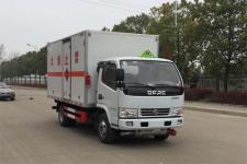 国六东风多利卡4米2易燃气体厢式运输车厂家批发价格