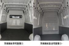 开沃牌NJL5040XXYEV1型纯电动厢式运输车图片