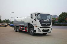 国六东风天龙后八轮15吨SGZ5250GQXDF6型清洗车