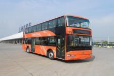 10.8米|30-61座亚星纯电动双层城市客车(JS6111SHBEV1)