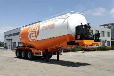 征驰8.5米32.6吨3轴下灰半挂车(JJD9406GXH)