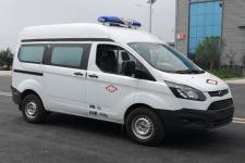 国六 江铃新全顺长轴中顶运输型救护车