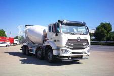 国六重汽浩瀚前四后八轻量化12方混凝土搅拌运输车价格