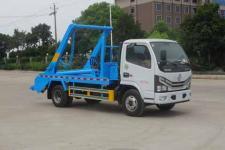 国六 东风多利卡摆臂式垃圾车