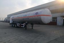 汇达12.6米26.7吨3轴二氧化碳运输半挂车(YHD9405GYU)
