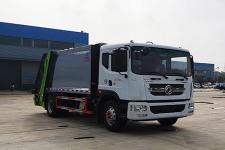 國六東風12方壓縮式垃圾車