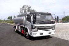 国六 东风多利卡8方普通液体运输车