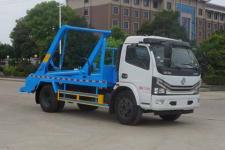 国六 东风大多利卡摆臂式垃圾车