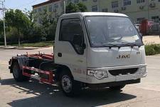國六江淮豪威車廂可卸式垃圾車