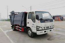國六五十鈴8方壓縮式垃圾車