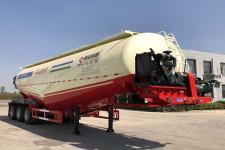 斯派菲勒11.5米29吨3轴低密度粉粒物料运输半挂车(GJC9402GFLA)